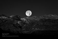 Full Moon Setting IV by goldone