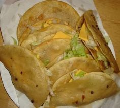 Jack−In−The−Box Tacos - Copycat Recipe. Bucket list--- I've got to see if this is real. Doesn't look greasy enough for REAL Jack-in-the-Box Tacos.