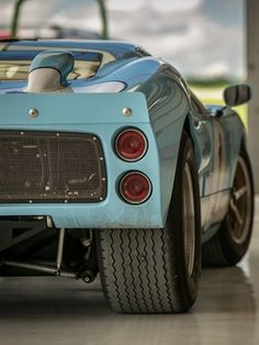This Ford GT40 Roush car is breathtaking. Click to discover more. #FlashbackFriday