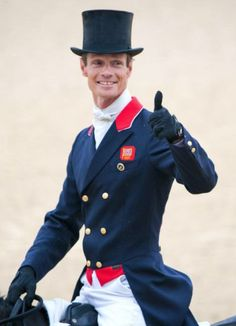 Will the handsome William Fox-Pitt go for the ultimate Equestrian Hat Trick?