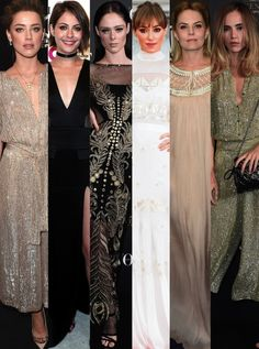 Amber Heard Coco Rocha Suki Waterhouse All Lovely In Temperley London: Label To Love #news #fashion