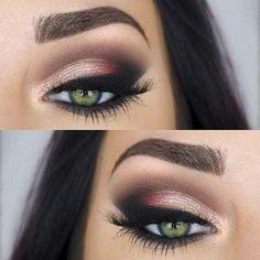 Rozpalający zmysły makijaż dla zielonych oczu. Zobacz koniecznie!