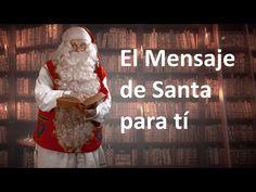 La felicitación de navidad de Papá Noel Santa Claus: mensaje video para los niños Laponia Finlandia - YouTube