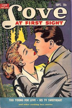 Some of the most aesthetically pleasing art to be found in comics turns up on the covers or in the pages of romance comics. Comic Book Covers, Comic Books Art, Comic Art, Book Art, Vintage Pop Art, Vintage Romance, Bd Comics, Comics Girls, Romance Comics