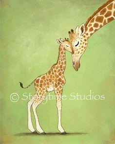 Baby Mine, Giraffes
