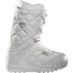Thirtytwo Exus White 2012 Women's Snowboard Boots at Zumiez : PDP ❤ liked on Polyvore