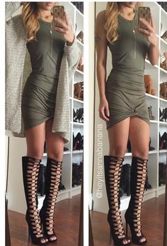 Cute and Knotty Dress (more colors) from Colors of Aurora. Saved to Epic Wishlist.