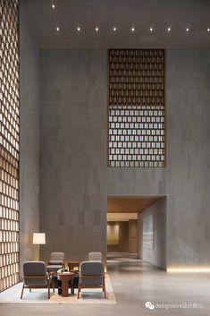 Sảnh Lobby Interior, Restaurant Interior Design, Office Interior Design, Interior Garden, Office Designs, Bathroom Interior, Kitchen Interior, Interior Modern, Interior Architecture