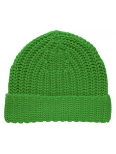 TopHeadwear Knitted Cuffed Beanie - Kelly Green - CT11SOHAX63 3ddce6d33282