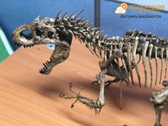 ArtStation - Indominus rex Skeleton 1:10 Scale, Vitamin Imagination Indominus Rex, Jurassic Park, Prehistoric, Fossils, Animal Drawings, Skeleton, Imagination, Scale, Lion Sculpture