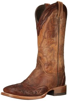 Stetson Men's 13 Inch Tooled Wing Tip Riding Boot * Special boots just for you. Western Boots, Cowboy Boots, Casual Outfits, Men Casual, Riding Boots, Wings, Lace Up, Slip On, Shoes