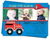Fire Truck #birthday #party invitation