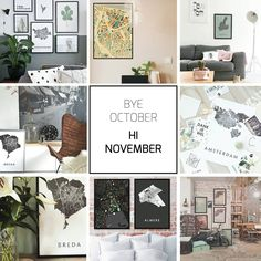 HI NOVEMBER  Bye October you were great!  We wish all our followers a great coming month!