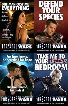 Farscape posters for The Peacekeeper Wars. :)
