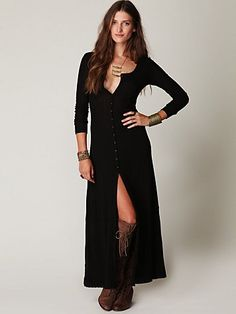 Moon Duster Maxi from Free People  Wish I was a bit taller so I could wear this!