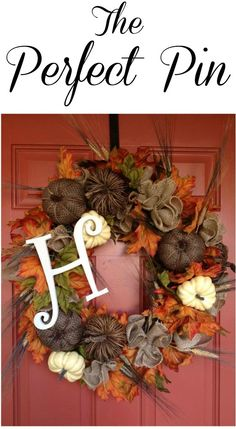 The Perfect Pin from Social Stylate: Fall Decor