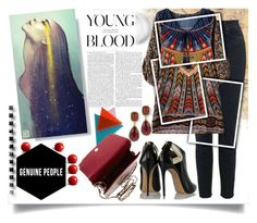 """""""Genuine People"""" by jeneric2015 ❤ liked on Polyvore featuring mode, Casadei et genuinepeople"""