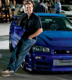 """It's not how you stand by your car, it's how you race your car."" Edwin - The Fast and the Furious #PaulWalker"