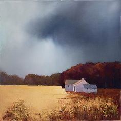 Little Lonely Cottage II by Barry Hilton