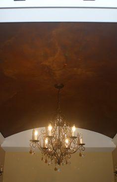 Master Bath Faux Ceiling