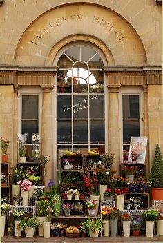 Pulteney Bridge Flowers | Bath