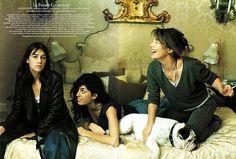 Lou Doillon, Charlotte Gainsbourg & Jane Birkin