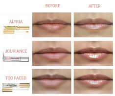 Tried and Tested Lip Plumpers from Alyria, Too Faced and Jouviance Product Reviews