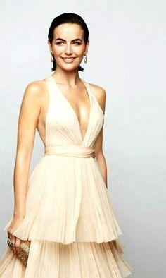 Camilla Belle in Salvatore Ferragamo