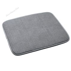 Microfiber Dish Drying Mat 18 x 16 Inch Kitchen Countertop Accessories  #NA