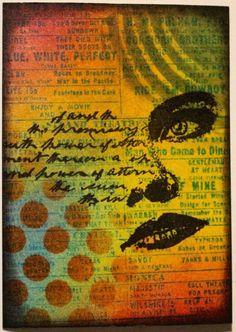 One Stamp Many Ways #5 A (Marjie Kemper)