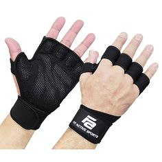 New Ventilated Weight Lifting Gloves with Built-In Wrist Wraps, Full Palm Protection & Extra Grip. Great for Pull Ups, Cross Training, Fitness, WODs & Weightlifting. Suits Men & Women - Best Weight Loss Tips Crossfit Gloves, Gym Gloves, Fitness Gloves, Crossfit Gym, Pilates, Cross Training, Training Plan, Training Center, Strength Training