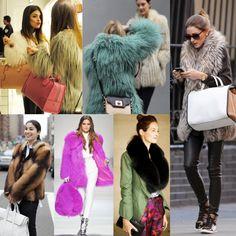 colored #fur #fashion