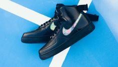 Nike Air Force 1 High '07 LV8 - (Black/Black/Multicolor)
