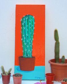 Alegrando Espacios: Cuadro Cactus