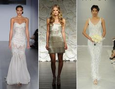 10 New Wedding Dress Trends for 2015 -- A bit of fringe