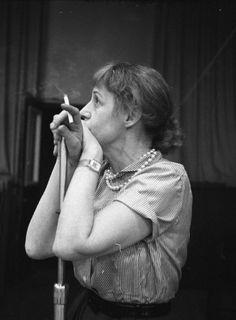 Lotte Lenya, Academy Award nominee in 1961