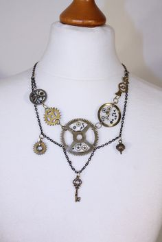 Pixie Wagner | steampunk jewellery 6