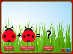 Basic Addition PowerPoint, with a ladybird theme, that uses motion paths, triggers and action buttons. Can be used in a number of ways, with young children or those with special educational needs, and full instructions are included. Offers plenty of opportunity for discussion and mathematical vocabulary. Could be used as a whole class, small group or 1:1 activity. A link is included to resources using the same ladybird design.