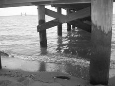 Newport News, VA James River Bridge seen from the Hilton Pier ♥ Newport News Va, Huntington Park, Portsmouth, Virginia Beach, Norfolk, The Hamptons, American History, Places Ive Been, Sick