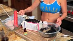 How to make a Coffee Cellulite Body Wrap that fights cellulite for cheap! Same way the spa does it!, via YouTube.
