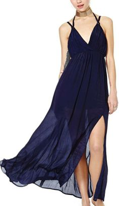 Float maxi with high slit