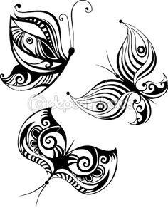 Butterfly set — Stock Vector #8044108