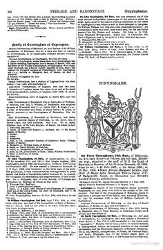 Genealogical and Heraldic Dictionary of the Peerage and Baronetage of the British Empire