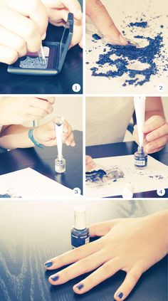 Make your own nail polish - Tutorial !