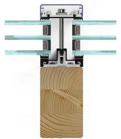 Holzrahmenbau deckenanschluss  Pfosten-Riegel-Fassade aus Holz | Details | Pinterest | Pfosten ...