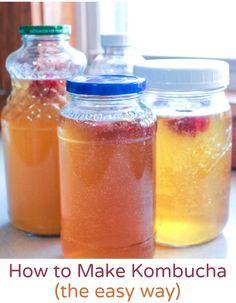How to Make Your Own Kombucha Tea - NaturalFamilyToday.com