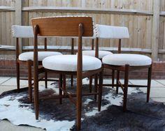 G Plan Fresco Teak Dining Chairs Retro Vintage Mid by RetroMonger
