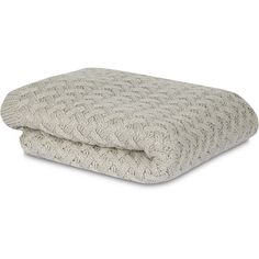 MM Linen Lattice knit throw (140 AUD) ❤ liked on Polyvore featuring home, bed & bath, bedding, blankets, throw, knit throw, textured blanket, knit blanket, neutral bedding and lattice bedding