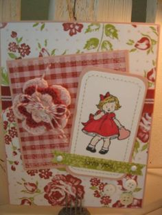Greeting Card Kids Valentine by doublesmom - Cards and Paper Crafts at Splitcoaststampers