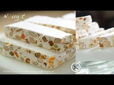 Nougat also known as Torrone is one of the most precious and ancient treat ever created. In addition to be the perfect long shelf life holidays gift, nougat . Candied Orange Peel, Candied Fruit, Churros, Nougat Recipe, Torrone Recipe, Boos Cutting Boards, Chocolates, Dessert From Scratch, Lavender Honey